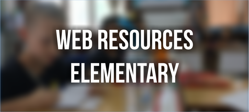 Web Resources Elementary